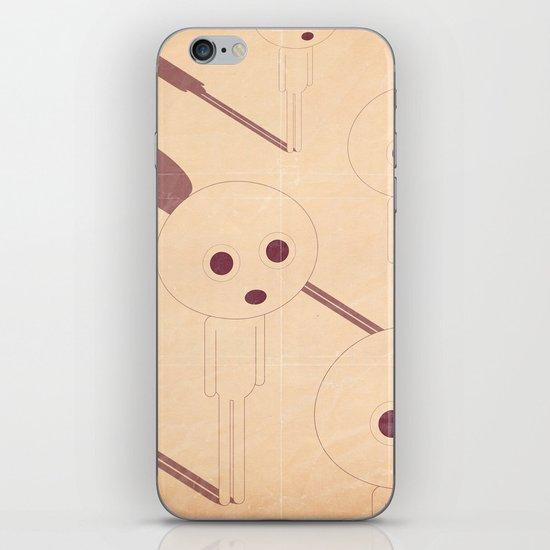 p e r p l e s s i iPhone & iPod Skin