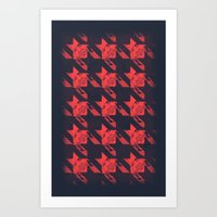 The Houndstooth Art Print