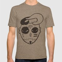 Skull Boy Mens Fitted Tee Tri-Coffee SMALL