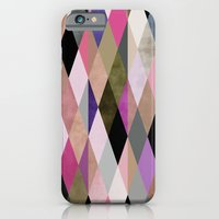 iPhone Cases featuring colour + pattern 27 by Georgiana Paraschiv