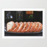A Fresh Loaf Art Print
