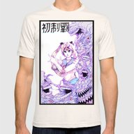 Sailor Moon Mens Fitted Tee Natural SMALL