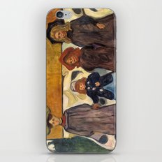 Four Girls in Åsgårdstrand by Edvard Munch iPhone & iPod Skin