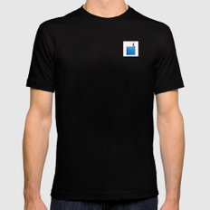 Sailing Mens Fitted Tee Black SMALL