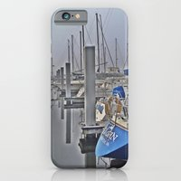 N is for Nautical (Sailboat) iPhone 6 Slim Case