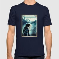 Twelfth Night Viola Mens Fitted Tee Navy SMALL