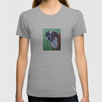 Bob Womens Fitted Tee Athletic Grey SMALL