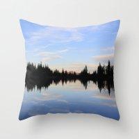 Salmon Lake Throw Pillow