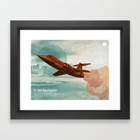 Starfighter Framed Art Print