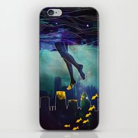 Midnight Swim iPhone & iPod Skin