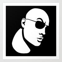The Rock Dwayne Johnson  Art Print