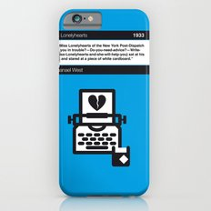 No011 MY Miss Lonelyhearts Book Icon poster Slim Case iPhone 6s