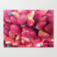 Strawberries in Paloquemao - Fresas en Paloquemao Canvas Print