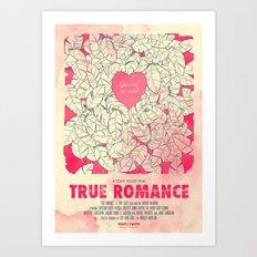 True Romance Art Print