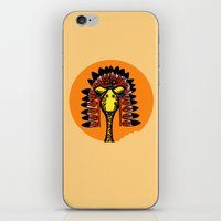 Indian Giraffe iPhone & iPod Skin