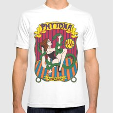 Phytona Mens Fitted Tee White SMALL