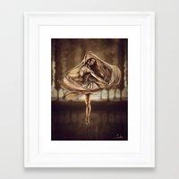 Dancerulean Framed Art Print
