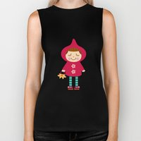 Little red riding hood Biker Tank