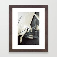 Cut Framed Art Print