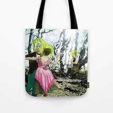 nothing here now but the recordings Tote Bag