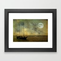 A ship 2 Framed Art Print