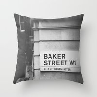 Oh, Sherlock! Throw Pillow