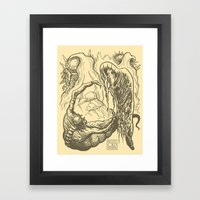 Alien Doom Framed Art Print