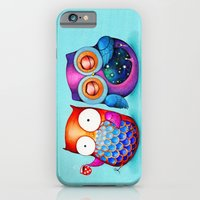 Night and Day Owls iPhone 6 Slim Case