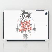 Angel de la Muerte - RED iPad Case