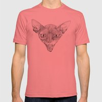 Sphynx Mens Fitted Tee Pomegranate SMALL