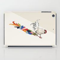 Walking Shadow, Rooster iPad Case