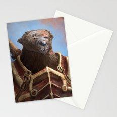 Bear Warrior Stationery Cards
