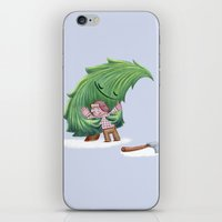 Enemies Hug IV iPhone & iPod Skin