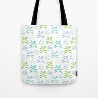 Bromeliads - Sea Glass Tote Bag