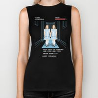 All Play and No Work Biker Tank
