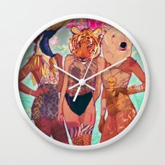 Die Young Wall Clock