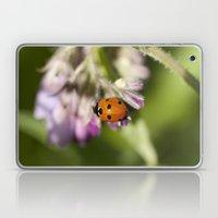 Ladybird In Spring Laptop & iPad Skin