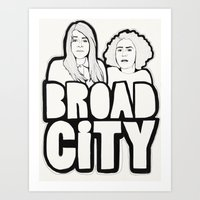 Broad City Art Print