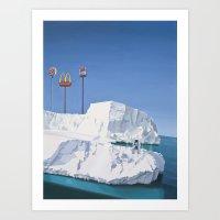 The Iceberg Art Print