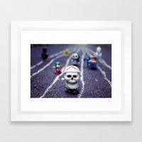 Death FTW Framed Art Print