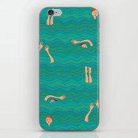 Swimming iPhone & iPod Skin