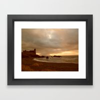 Dunure Castle Framed Art Print
