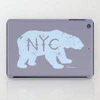 Polar Bear NYC aka Polar Opposites iPad Case
