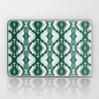 Watercolor Green Tile 1 Laptop & iPad Skin