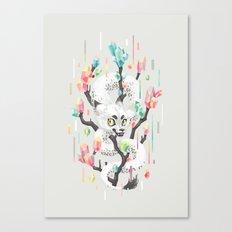 Dragon and His Treasure Canvas Print