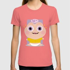 Not The Momma Womens Fitted Tee Pomegranate SMALL