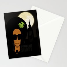 Shaft's is name. Shaft's his game Stationery Cards
