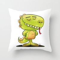 Anmals N' Stuff Series - 2 - Lizard Throw Pillow
