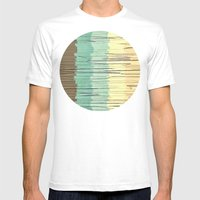 Shreds of Color 2 Mens Fitted Tee White SMALL