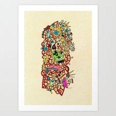 - athena - Art Print